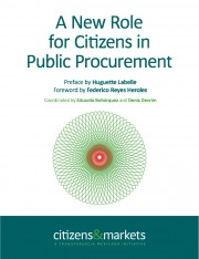 A New Role for Citizens in Public Procurement-Portada