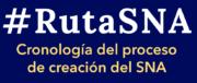 Cronología del proceso de creación del SNA